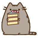 pusheen cake cat random