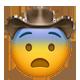 fearful cowboy cowboy emojis