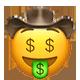 greedy cowboy cowboy emojis
