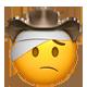 injured cowboy cowboy emojis