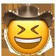 laughing cowboy cowboy emojis
