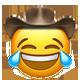 lmao cowboy cowboy emojis
