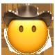 mouthless cowboy cowboy emojis