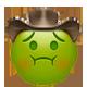 nauseated cowboy cowboy emojis