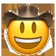 smiley cowboy cowboy emojis