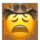 weary cowboy cowboy emojis