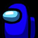 among us blue random