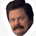 ron swanson face random