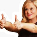 leslie knope thumbs up random
