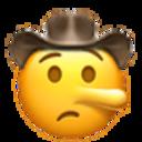 lying cowboy cowboy emojis