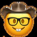 nerdy cowboy cowboy emojis