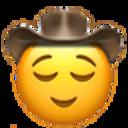 relieved cowboy cowboy emojis