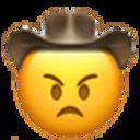 angry cowboy cowboy emojis