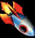 rocket down random