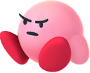 kirby angy sit retro game