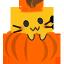 meow pumpkin blob cats