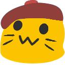 meow beret blob cats