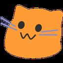 meow orange blob cats
