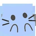 meow bluesurprised blob cats