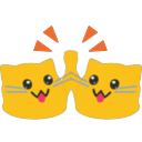 meow highfive blob cats