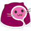 meow comfypink blob cats