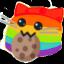 meow rainbowcookie blob cats