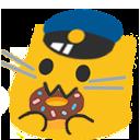 meow policedonut blob cats