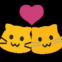 meow couple blob cats