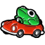 froggy car random