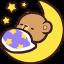bear moon sleep random