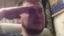 salute crying random