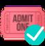 ticket raised random