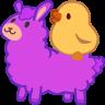 chick llama random