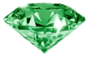 green diamond random