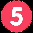 5 circle random