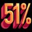51percent random