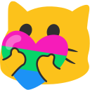 meow heartpolysexual blob cats