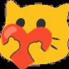 meow heart1 blob cats