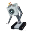 1 eyed robot random