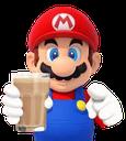 mario chocolate milk retro game