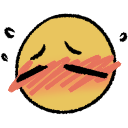 embarrassed blush random