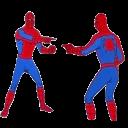 spiderman pointing random