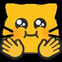 meow puffyhug blob cats