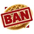 waffle ban random