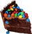 mnm cake random