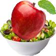 apple salad random