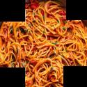 heavier spaghetti plus sign random