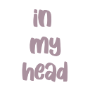 in my head random