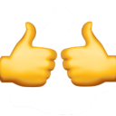 two thumbs up random