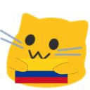 meow colombia blob cats